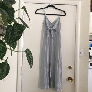 Top shop light blue midi dress
